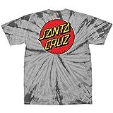 Santa Cruz Mens Classic Dot Regular Short-Sleeve