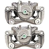 Auto Shack BC30542PR Rear Disc Brake Caliper Pair With Brackets