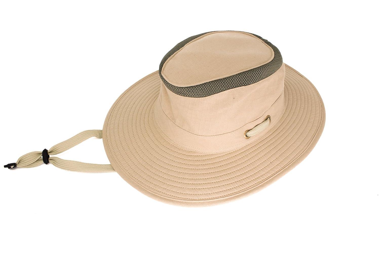 f84987c3 Mens Australian Style Bushman Sun Hat - Summer Headwear Poly Cotton  Lightweight