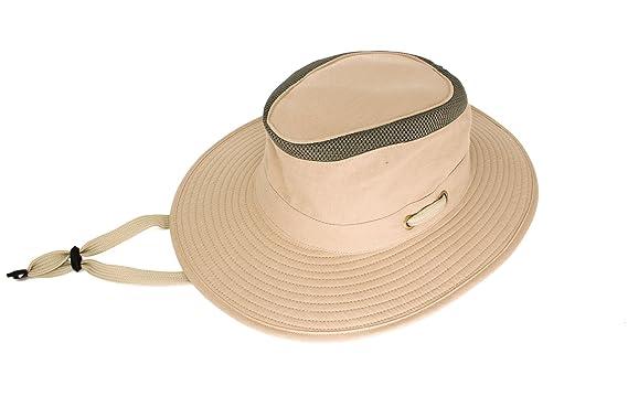 ca7f133a1f9dc Mens Australian Style Bushman Sun Hat - Summer Headwear Poly Cotton  Lightweight  Amazon.co.uk  Clothing