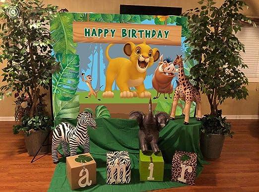 Daniu Lion King Baby Simba Hintergrund Dschungel Safari Kamera