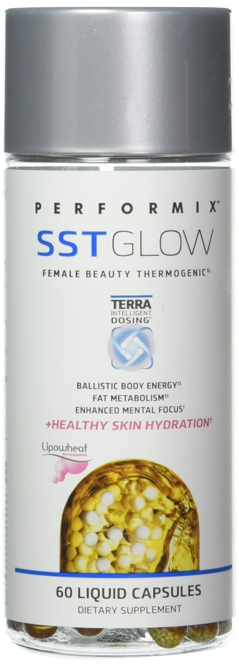 PERFORMIX SST GLOW Female Thermogenic, Energy, Fat Metabolism, Skin Hydration, 60 capsules