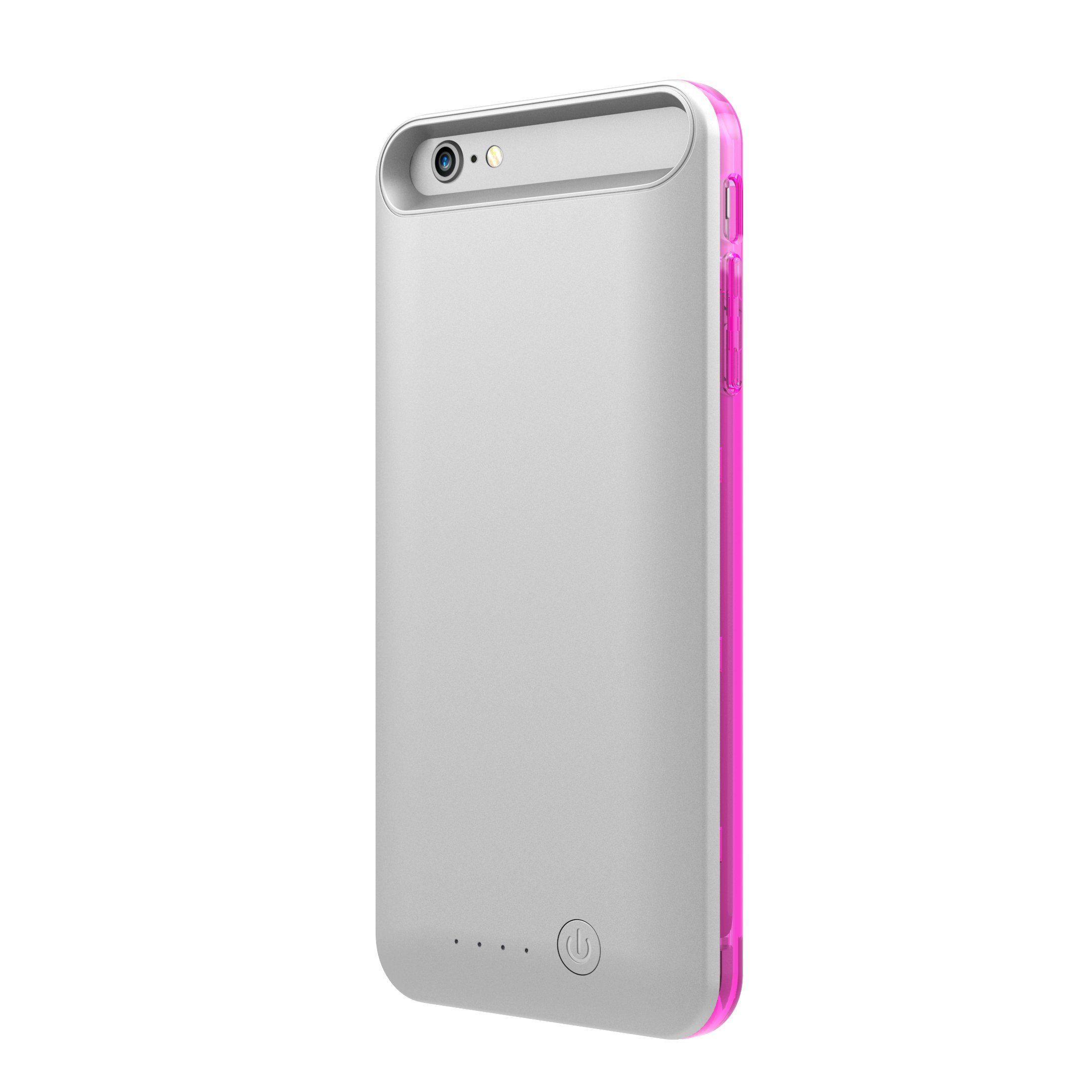 TAMO iPhone 6/6s Extended Battery Case, TAMO 2400 mAh dual-purposed Ultra-Slim Protective Extended Battery Case - Pink - Battery - Retail Packaging - Pink by TAMO (Image #4)