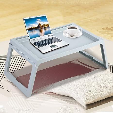 Tavolino Pieghevole Da Letto.Gototop Tavolino Pieghevole Regolabile Tavolino Da Letto Per Pc