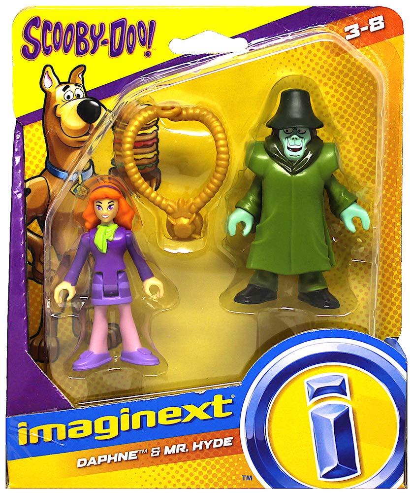 Hyde Scooby Doo Imaginext Figures 2.5 Daphne /& Mr