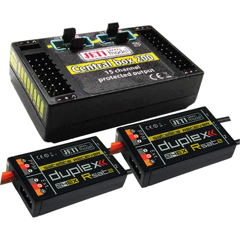 2 x Rsat2 Jetimodel J CB 200 RS 80001601 Duplex 2.4 Ex Central Box 200 Incl