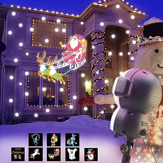 Proyector animado de nieve JEENSO para decoración de Halloween o ...