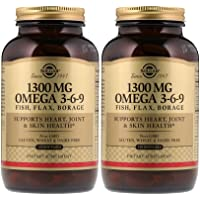 Solgar – EFA Omega 3-6-9 1300 mg, 120 Softgels