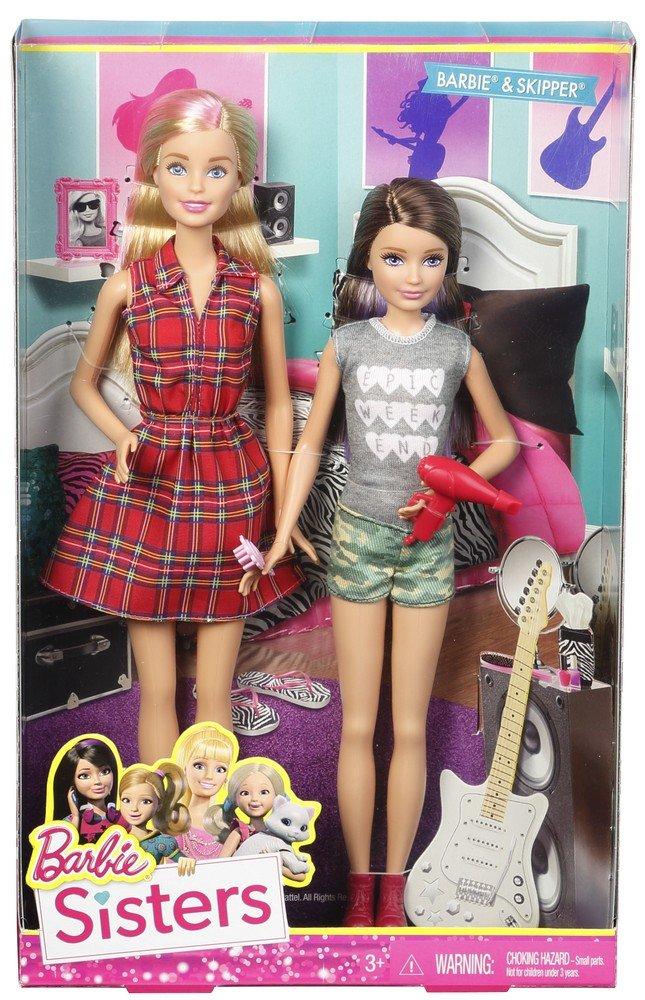 Barbie Sisters Barbie and Skipper Doll 2-Pack