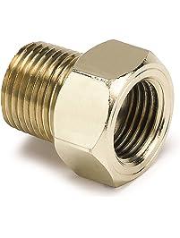 Auto Meter 2263 3/8-Inch Brass NPT Mechanical Temperature Adapter