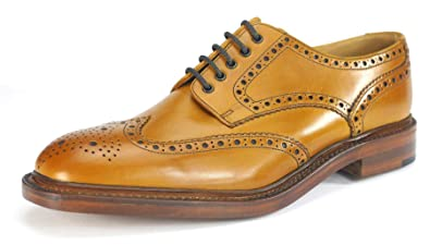 242b1ad0544 Loake Chester Mens Brogue Tan Shoes: Amazon.co.uk: Shoes & Bags