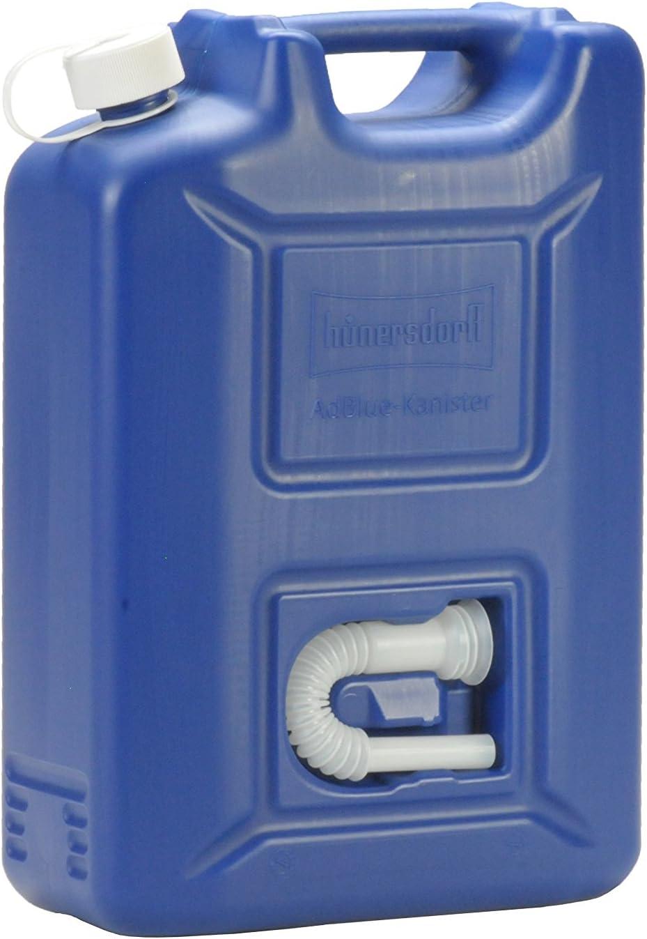 Hünersdorff Adblue Kanister 20 L Ideal Zur Betankung An Adblue Pkw Zapfsäulen Mehrwegkanister Mit Auslaufrohr Passt In Adblue Tankstutzen Unbefüllt Auto