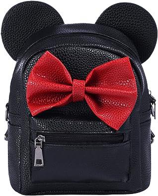 Disney Minnie Mouse BackpackKids Minnie BagGirls Minnie Mouse Rucksack