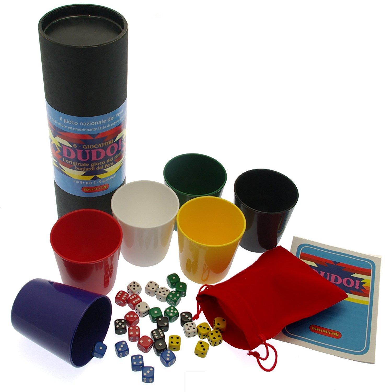 Dudo. L'originale gioco dei dadi bugiardi dal Perù - 6 giocatori Brimtoy