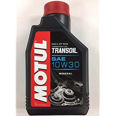 Motul Transoil 2T 4T Motorcycle Transmission Gearbox 10W30 1 Quart: Automotive