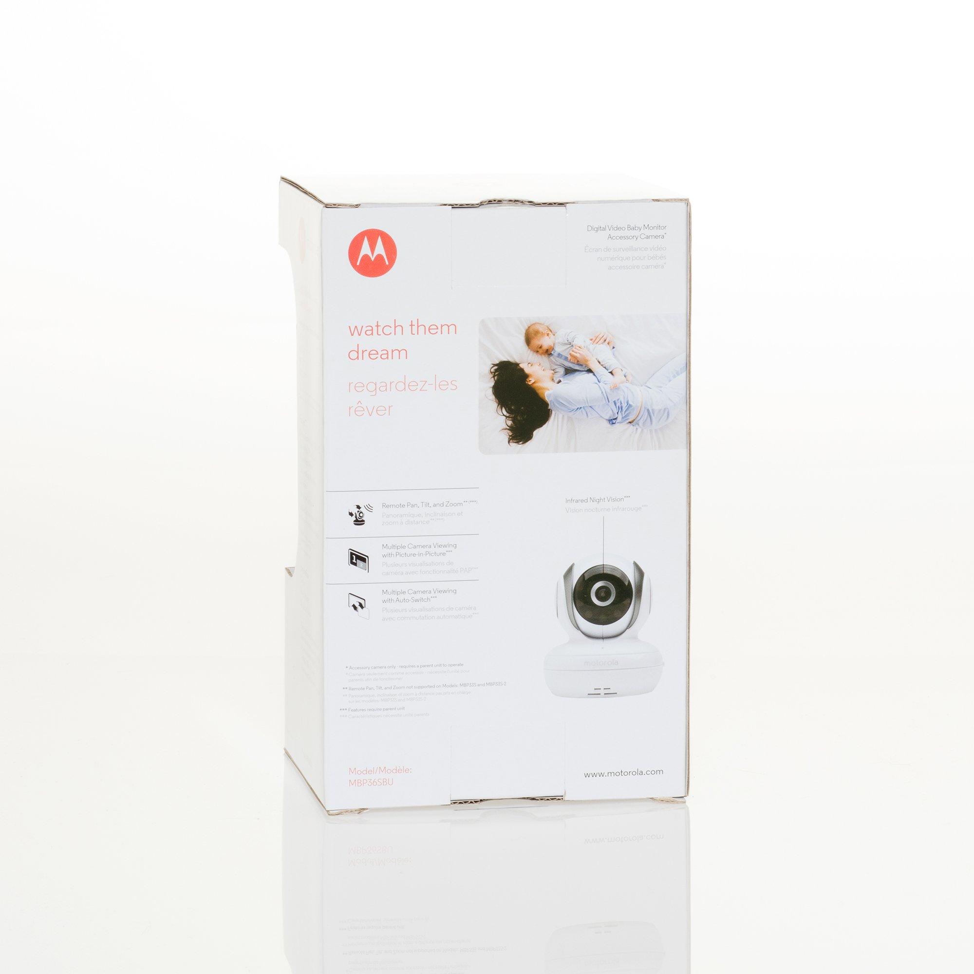 Motorola Additional Camera for Motorola MBP33S and MBP36S Baby Monitors (MBP36SBU) by Motorola (Image #5)