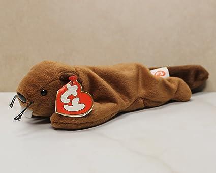 f2ca9d9a973 Amazon.com  Ty Bucky (Beaver) MWMT 3rd 2nd gen Beanie Baby  Toys   Games