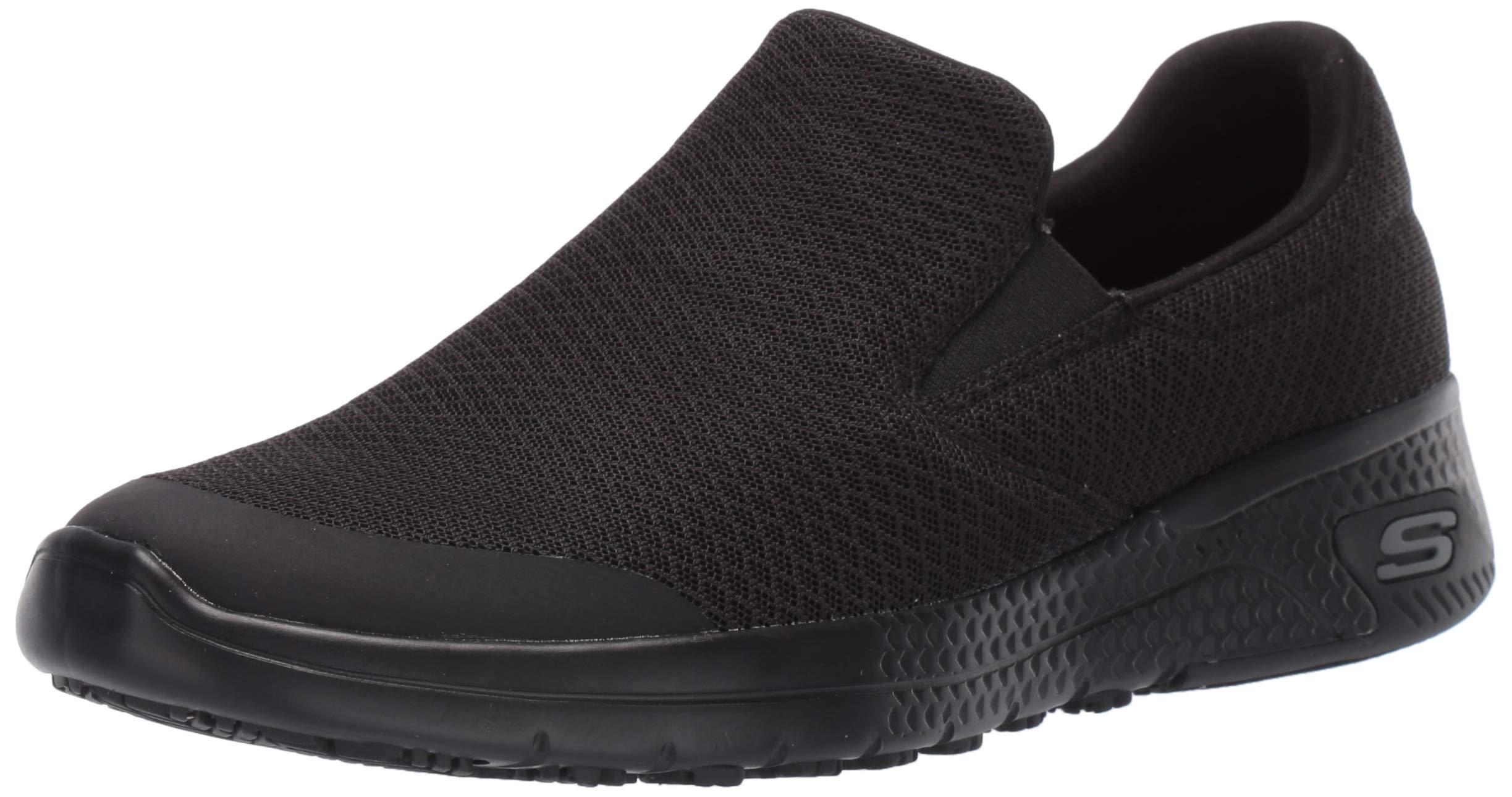 Skechers Women's Marsing Health Care Professional Shoe, Black, 10 W US by Skechers