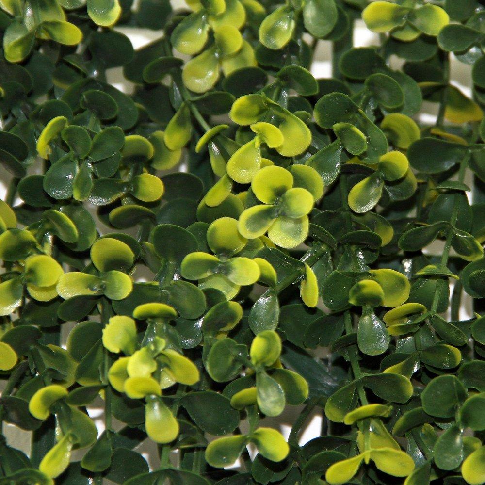 Uland 6 Künstliche Lang Buchsbaum Hecken Platten UV Kunstleder