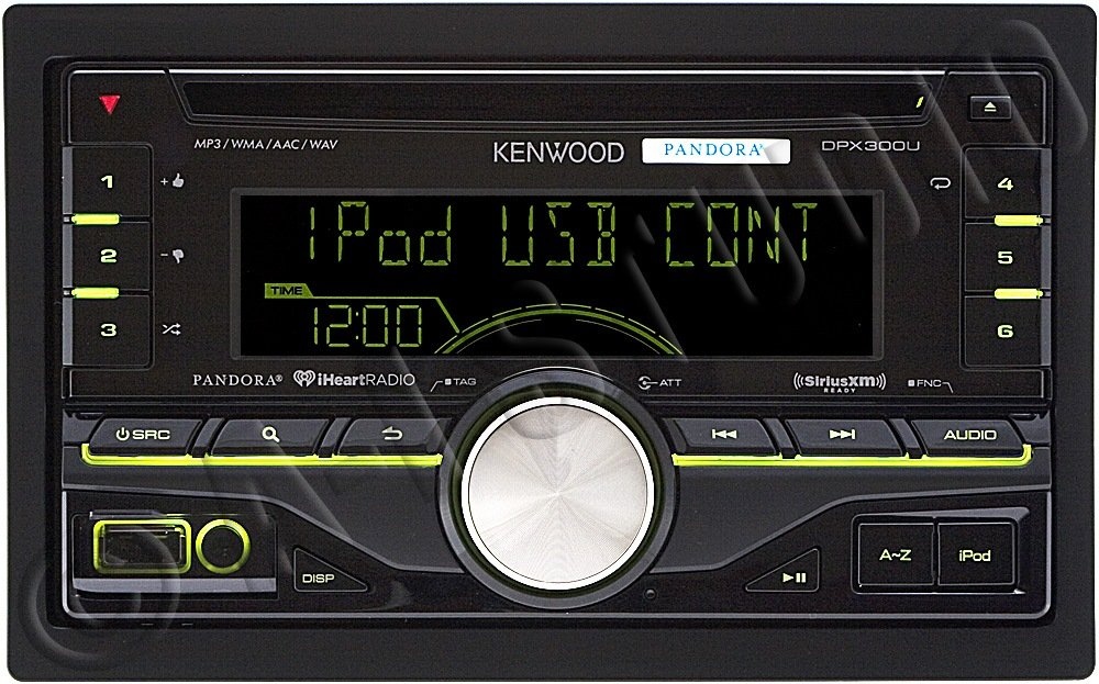 Amazon Kenwood DPX300U Double DIN InDash Car Stereo Receiver – Kenwood Cd Receiver Wire Diagram