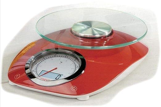 Soehnl analógicos y al Mismo Tiempo Digital Báscula de Cocina ...