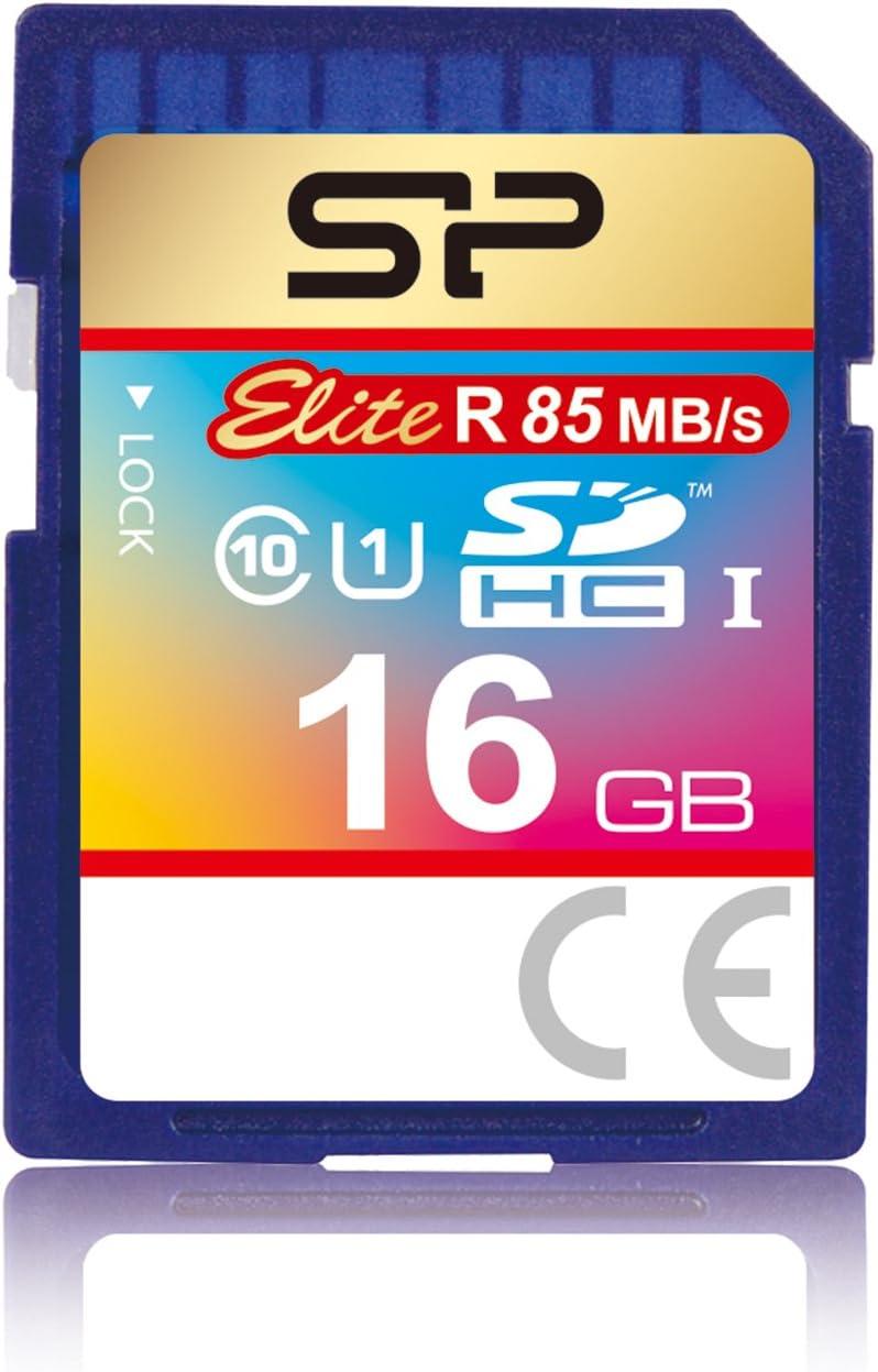 Silicon Power Sp016gbsdhau1v10 Sdhc 16gb Speicherkarte Computer Zubehör