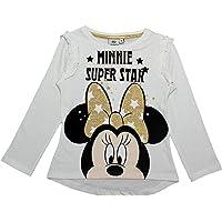 Minnie Mouse Super Star Glitter Camiseta de manga larga 3-8 años