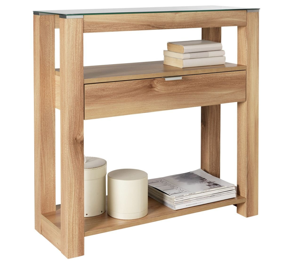 Console tables argos for Table induction 71 x 52