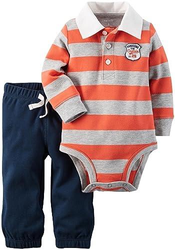 Baby Boys' Bodysuit Pant Sets 121g837