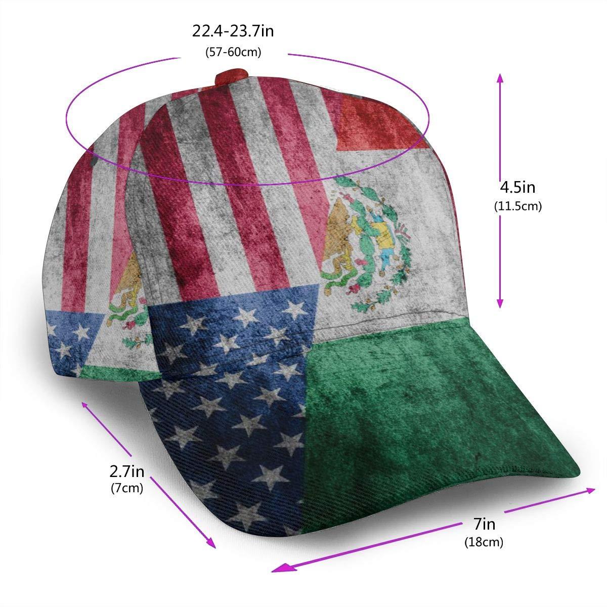 Retro American Flag Unisex Baseball Cap Classic Adjustable Plain Cap
