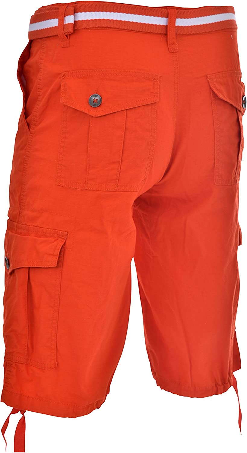All-Season Belted Ripstop Basic Cargo Short
