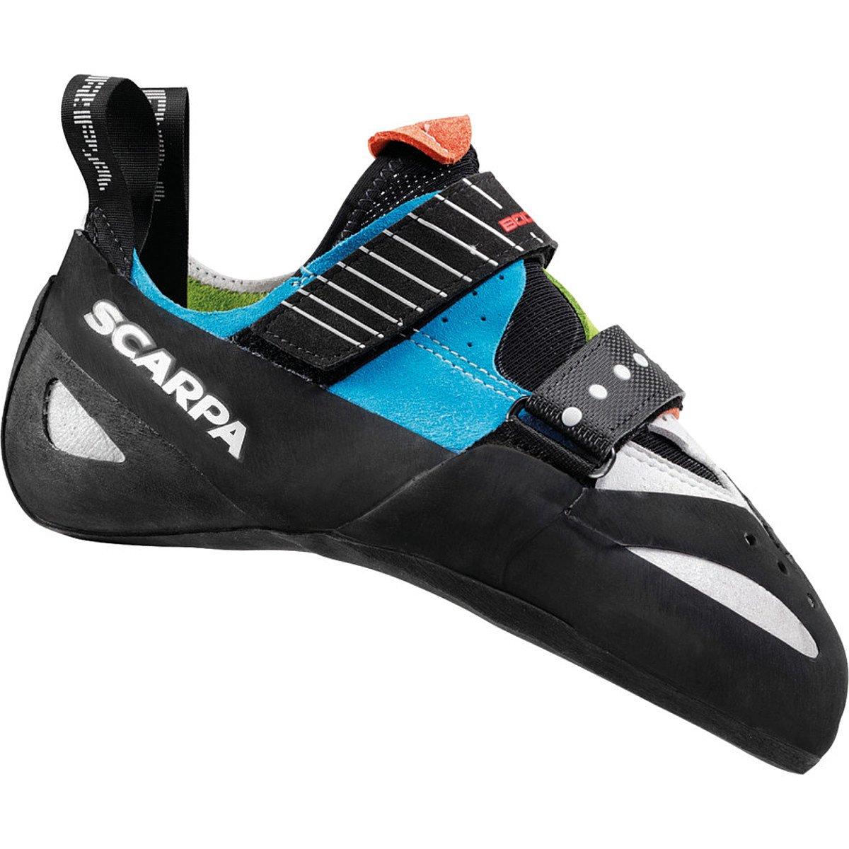 SCARPA Boostic Climbing Shoe B00EANMR0O 40.5 M EU|Parrot / Spring / Turquoise