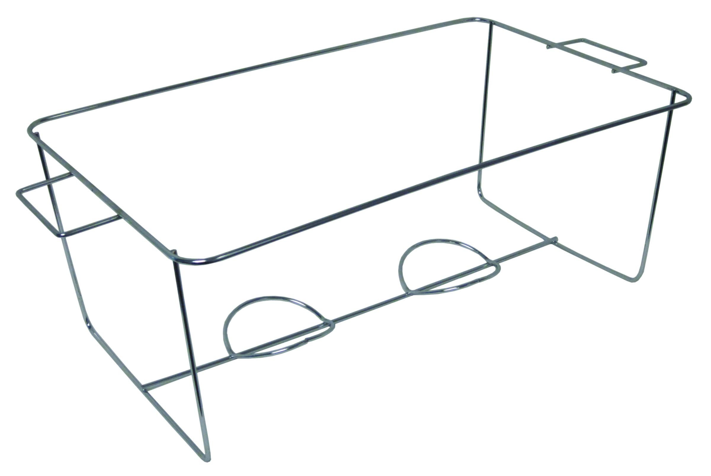 Durable Packaging W370094 Wire Chafing Stand, 24-1/4'' x 14'' x 8-1/2'', 8.50'' Height, 14'' Width, 24.25'' Length (Pack of 24) by Durable Packaging (Image #1)