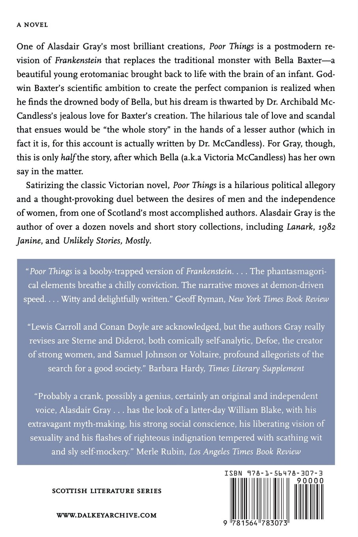 Poor Things (british Literature): Alasdair Gray, Janice Galloway:  9781564783073: Amazon: Books