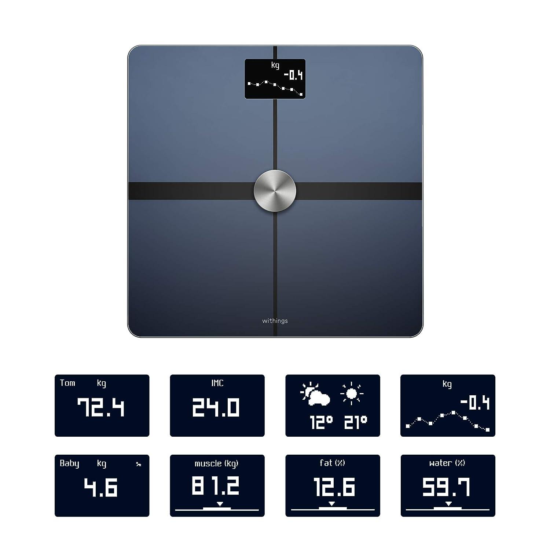 Withings Body+ - Báscula wifi de composición corporal