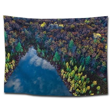 tapisserie forêt Tapisserie pin créative bâche imprimée Pin rdhxtQBCs