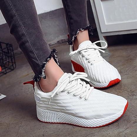 Morwind Donna Scarpe Bianche Donna Scarpe Da Ginnastica Scarpe Autunno Da  Donna Ragazze Scarpe Uomo Grigio Eleganti Sneakers Fitness Donna Scarpe Da  Lavoro ... 3b3b2444bee