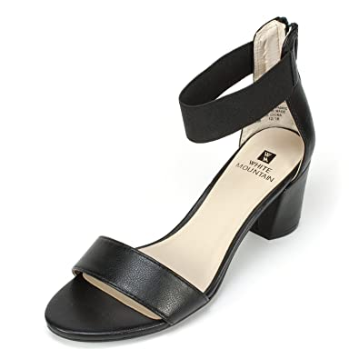 1ee83dacc Amazon.com | WHITE MOUNTAIN Shoes 'ERMALINE' Women's Heel | Sandals