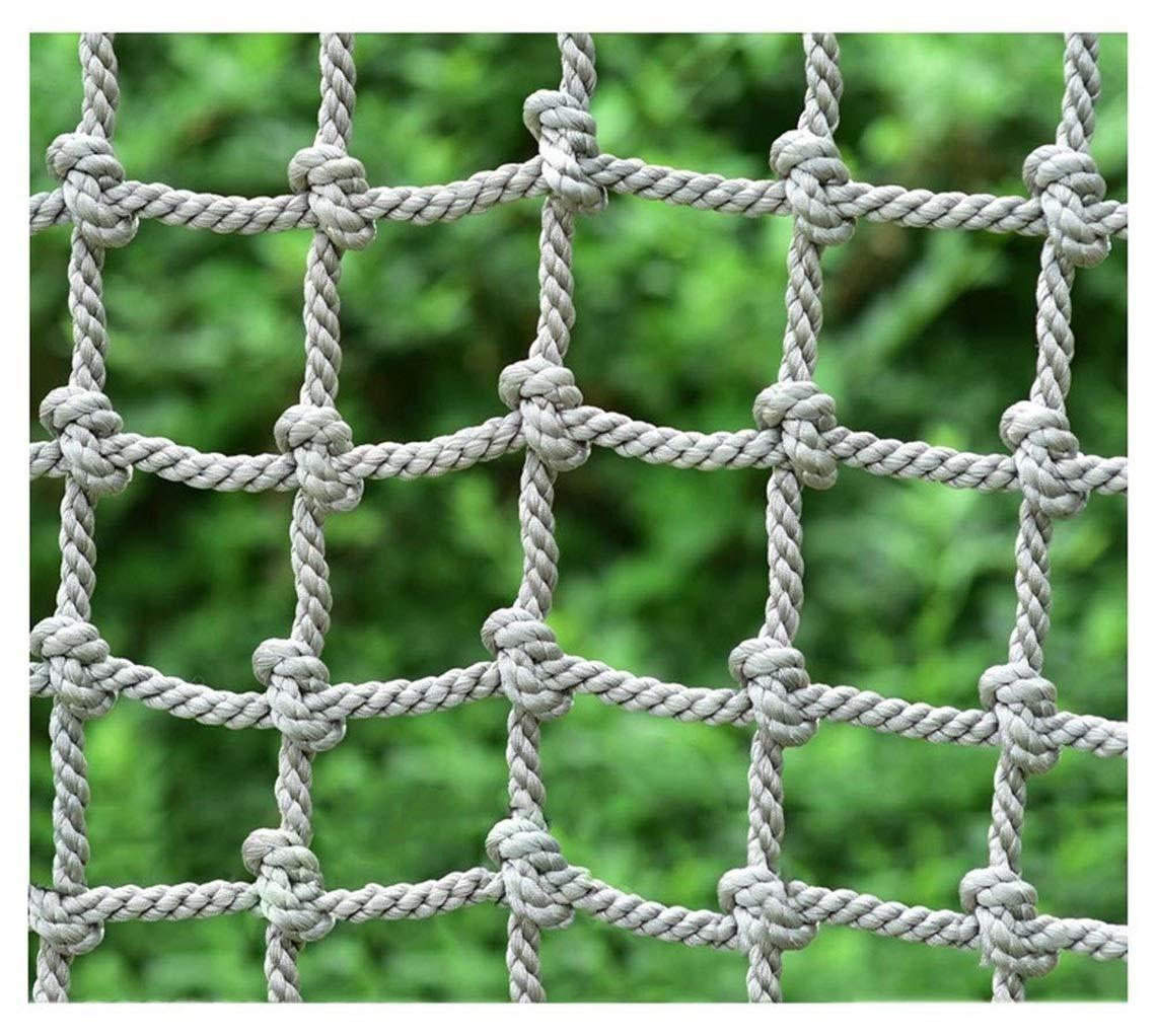 幼稚園屋外保護ネット、多機能屋外安全ネット子供保護クライミングネットアミューズメントパークロープネット、階段バルコニーナイロン落下防止ネット(18 mm / 20 cm) (Color : 18mm/20cm, Size : 1*3m/3.3*9.8ft) 18mm/20cm 1*3m/3.3*9.8ft