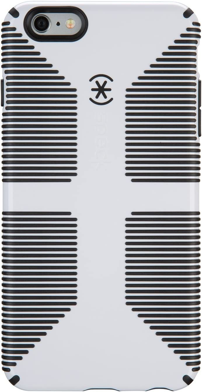 Speck Products CandyShell Grip Case Plus FACEPLATE for iPhone 6 Plus /6S Plus - White/Black
