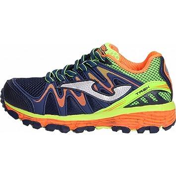 Joma Trek Jr 703 Marino - Zapato Trail niño - J. trekw-703 (Size EU 34 - cm 21.5 - UK 2): Amazon.es: Deportes y aire libre