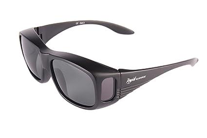 Rapid Eyewear Noir sur-Lunettes DE Soleil