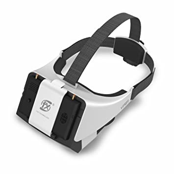 V2.0 FXT Viper Gafas FPV 5.8GHz 40CH , Pantalla Desmontable de 5 ...