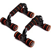SAMPLUS MALL (LABEL) Push Up Bars Stand with Foam Grip Handle for Chest Press, Home Gym Fitness Exercise, Strength Training (Multicolour)