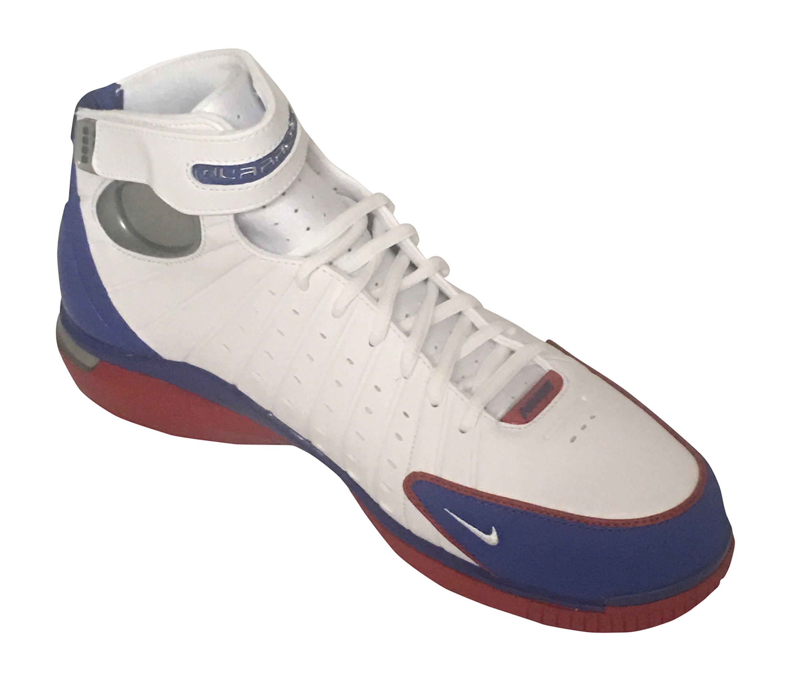sale retailer 100c0 5820f Galleon - Nike Men s Air Zoom Huarache 2K4 White Red Metalic Silver 308475- 100 (SIZE  11)