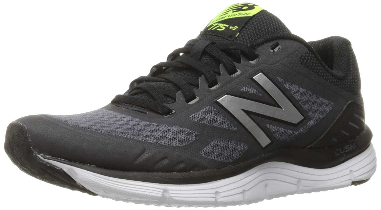 New Balance Men's M775v3 Running Shoe B01FSDXHB2 7 4E US|Thunder/Black/Hi Lite
