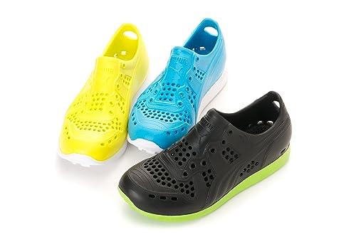 Junior Childrens Boys Girls Trainers Aqua shoe Puma RS100 Injex UK 1 /& 2