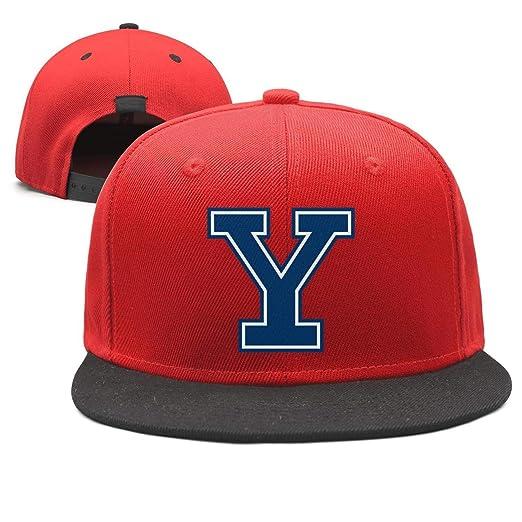 0ad17038e7e9aa Unisex red Strapback Hat for Mens Womens Yale-University-Y-Logo- Snapback