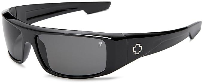 d94153bda3 Amazon.com  SPY Optic Logan Wrap Sunglasses  Clothing