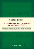 La gestione del sistema di produzione: Pianificazione, programmazione, controllo, misura e miglioramento